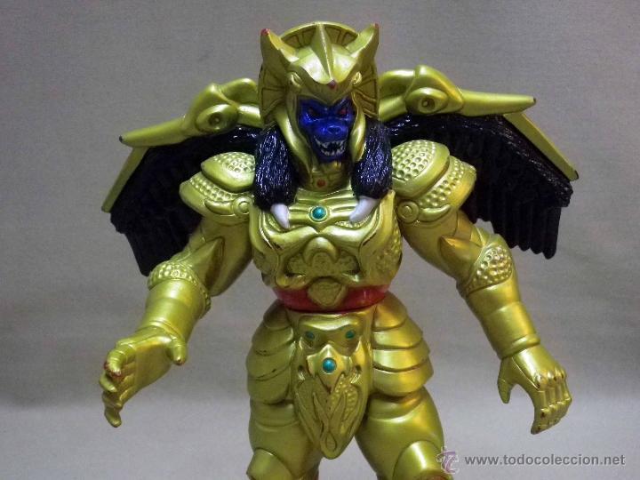 Figuras y Muñecos Power Rangers: GOLDAR, VILLANO DE LOS POWER RANGERS, BANDAI, 1993, 21 cm - Foto 3 - 40761329