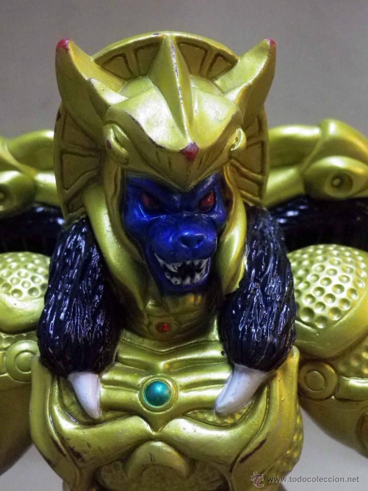Figuras y Muñecos Power Rangers: GOLDAR, VILLANO DE LOS POWER RANGERS, BANDAI, 1993, 21 cm - Foto 5 - 40761329