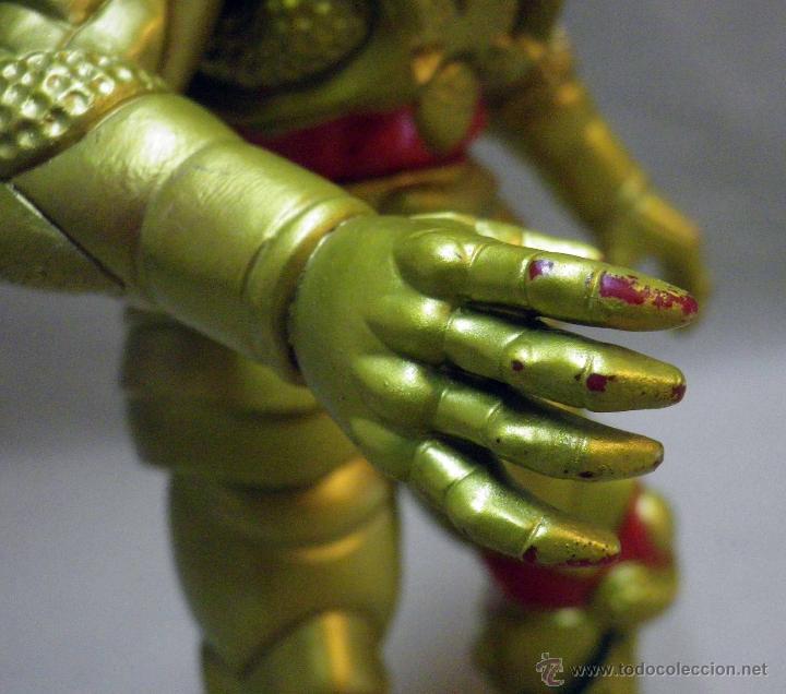 Figuras y Muñecos Power Rangers: GOLDAR, VILLANO DE LOS POWER RANGERS, BANDAI, 1993, 21 cm - Foto 10 - 40761329