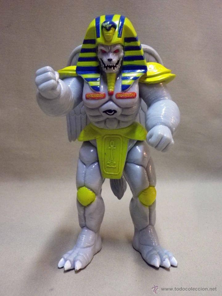 Figuras y Muñecos Power Rangers: KING SPHINX ALIEN, VILLANO DE LOS POWER RANGERS, BANDAI, 1993, 20 cm - Foto 2 - 40761445