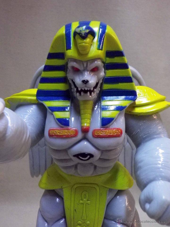 Figuras y Muñecos Power Rangers: KING SPHINX ALIEN, VILLANO DE LOS POWER RANGERS, BANDAI, 1993, 20 cm - Foto 3 - 40761445