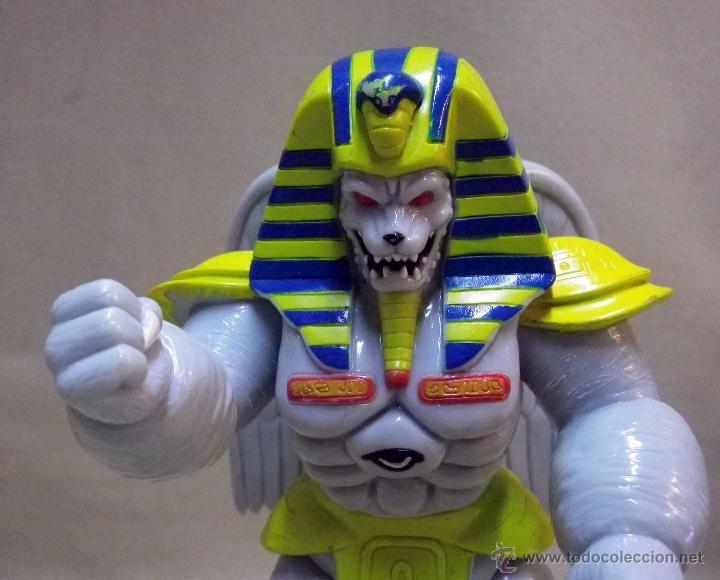 Figuras y Muñecos Power Rangers: KING SPHINX ALIEN, VILLANO DE LOS POWER RANGERS, BANDAI, 1993, 20 cm - Foto 4 - 40761445