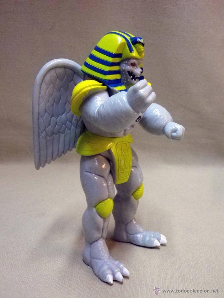 Figuras y Muñecos Power Rangers: KING SPHINX ALIEN, VILLANO DE LOS POWER RANGERS, BANDAI, 1993, 20 cm - Foto 6 - 40761445
