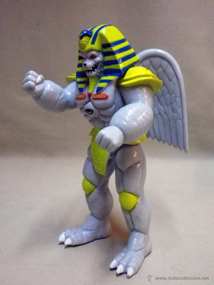 Figuras y Muñecos Power Rangers: KING SPHINX ALIEN, VILLANO DE LOS POWER RANGERS, BANDAI, 1993, 20 cm - Foto 7 - 40761445