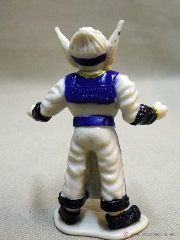 Figuras y Muñecos Power Rangers: FIGURA DE PLASTICO, POWER RANGERS, FINSTER ALIEN, BANDAI 1993, 7 CM - Foto 4 - 40769060