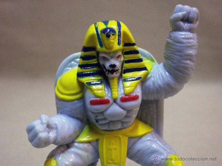 FIGURA DE PLASTICO, POWER RANGERS, KING SPHINX ALIEN, BANDAI 1993, 7 CM (Juguetes - Figuras de Acción - Power Rangers)