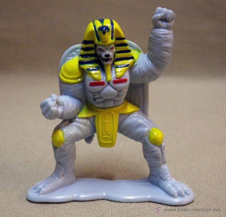 Figuras y Muñecos Power Rangers: FIGURA DE PLASTICO, POWER RANGERS, KING SPHINX ALIEN, BANDAI 1993, 7 CM - Foto 2 - 40769118