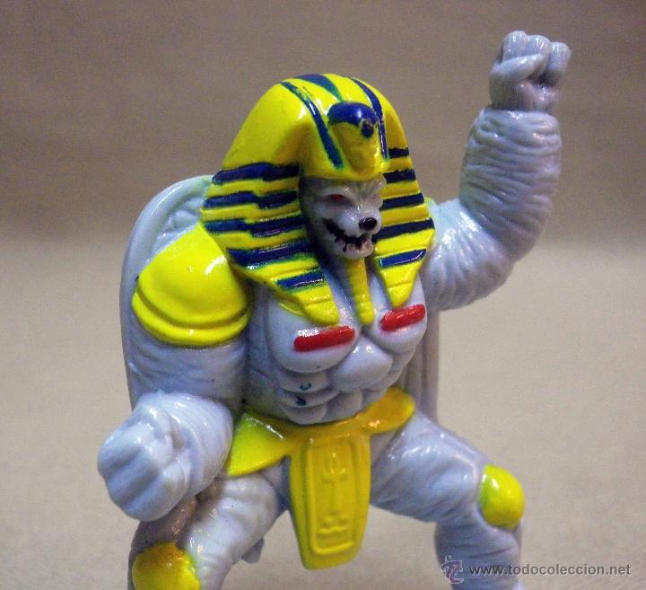 Figuras y Muñecos Power Rangers: FIGURA DE PLASTICO, POWER RANGERS, KING SPHINX ALIEN, BANDAI 1993, 7 CM - Foto 5 - 40769118
