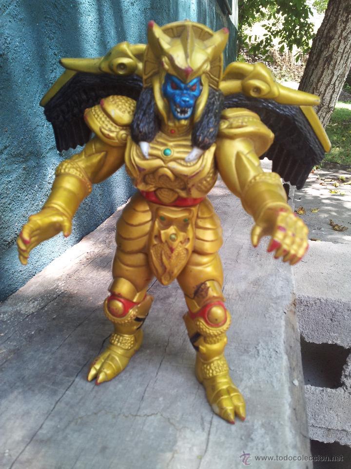GOLDAR, VILLANO DE LOS POWER RANGERS, BANDAI, 1993, 21 CM (Juguetes - Figuras de Acción - Power Rangers)