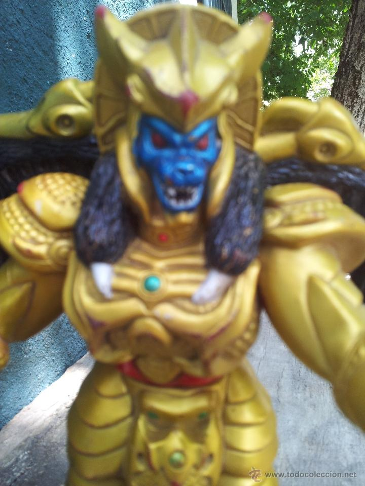 Figuras y Muñecos Power Rangers: GOLDAR, VILLANO DE LOS POWER RANGERS, BANDAI, 1993, 21 cm - Foto 2 - 44460247