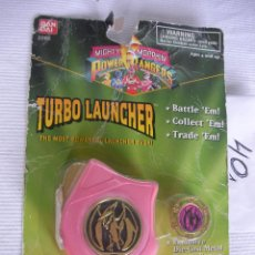 Figuras y Muñecos Power Rangers: ANTIGUO BLISTER CON COMPLEMENTO POWER RANGERS TURBO LAUNCHER. Lote 45720675