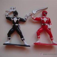 Figuras y Muñecos Power Rangers: 2 MUÑECOS AÑOS 90 POWER RANGERS. Lote 46665140