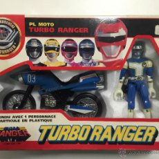 Figuras y Muñecos Power Rangers: MOTO 3 TURBO RANGER DE BANDAI, AÑO 1.989, EN CAJA. Lote 47274690