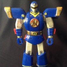 Figuras y Muñecos Power Rangers: MUÑECO FIGURA DE BANDAI 95 POWER RANGERS DELUXE AUTO-MORPHIN NINJOR MEGAZORD 1995. Lote 49109357