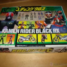 Figuras y Muñecos Power Rangers: VINTAGE KAMEN RIDER BLACK RX - 1990. Lote 49946032