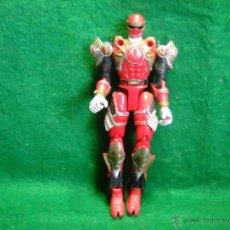 Figuras y Muñecos Power Rangers: POWER RANGERS ROJO BANDAI 2002. Lote 50716610