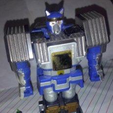 Figuras y Muñecos Power Rangers: BANDAI 1995 MEGAZORD SHOGUN POWER RANGERS - ZORD AZUL LOBO - BRAZO IZQUIERDO - ANCLAJES PERFECTOS. Lote 50813103
