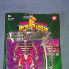 Figuras y Muñecos Power Rangers: FIGURA DEMONIO LORD ZEDD DE POWER RANGERS NUEVA EN BLISTER ORIGINAL SIN ABRIR - BANDAI AÑOS 90 -. Lote 55374910