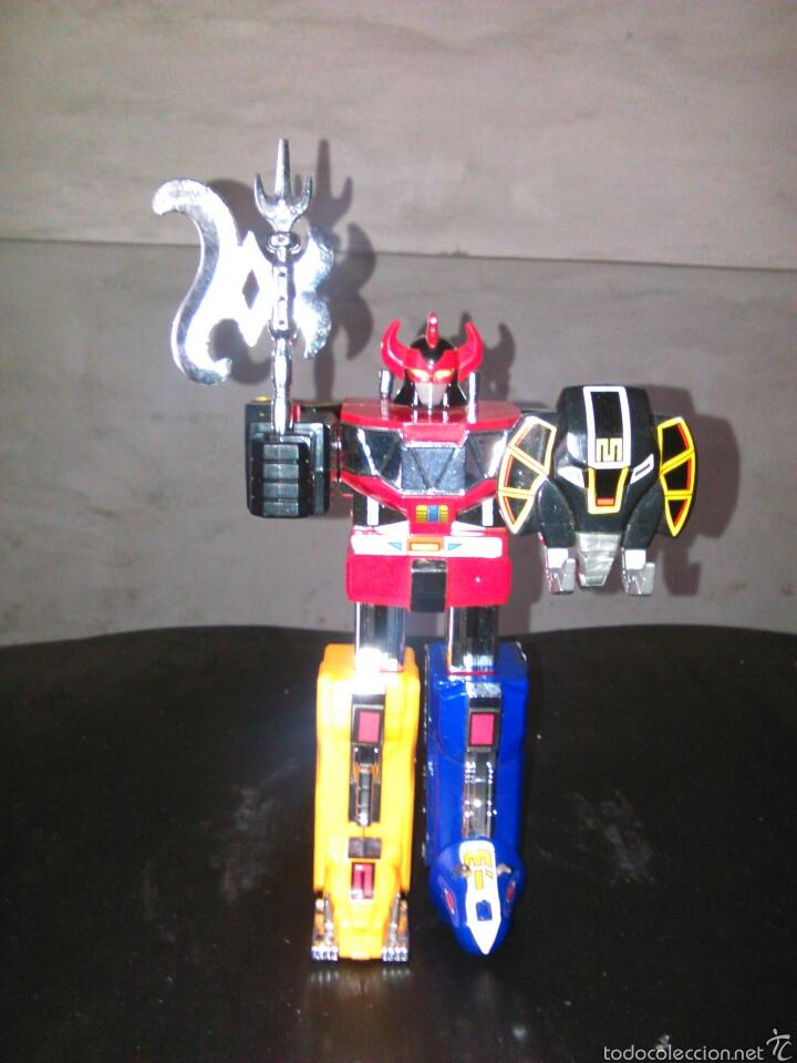 MEGAZORD PVC ROBOT POWER RANGERS FIGURA FIGURAS ZORD MUNECO (Juguetes - Figuras de Acción - Power Rangers)