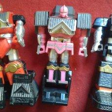 Figuras y Muñecos Power Rangers: ROBOT TRANSFORMERS 3 MUÑECOS POWER RANGERS ?. Lote 55685950