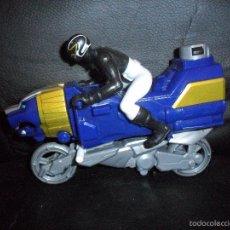 Figuras y Muñecos Power Rangers: MOTO SEA LION & BLACK RANGER - POWER RANGERS MEGAFORCE 2014. Lote 55862832