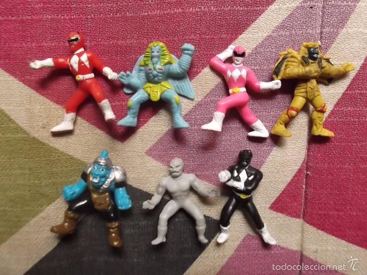 Lote De 7 Figuras De Power Rangers De Bandai Ti Sold At Auction