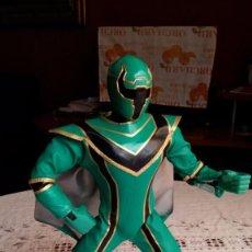 Figuras y Muñecos Power Rangers: POWER RANGERS VERDE INTERACTIVO DE BANDAI FUNCIONANDO MULTIPOSICIONAL COMO NUEVO VER FOTOS. Lote 56757390