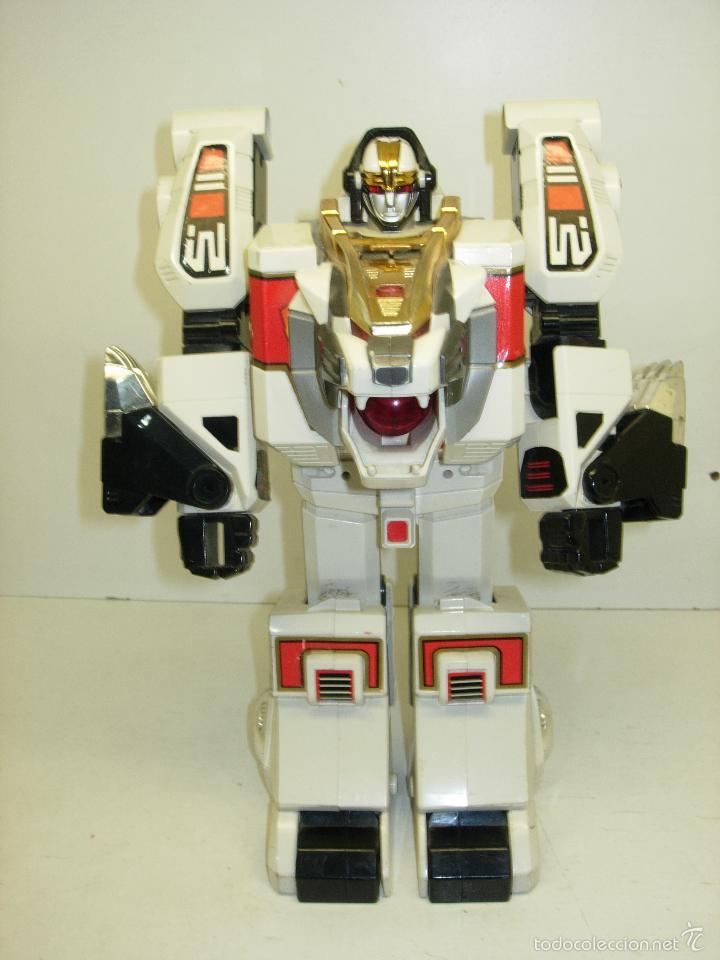 ROBOT TRANSFORMER TIGERZORD POWER RANGERS BANDAI 1994 CON LUCES Y SONIDO (Juguetes - Figuras de Acción - Power Rangers)
