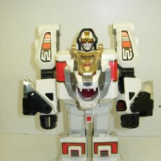 Figuras y Muñecos Power Rangers: ROBOT TRANSFORMER TIGERZORD POWER RANGERS BANDAI 1994 CON LUCES Y SONIDO. Lote 57546288