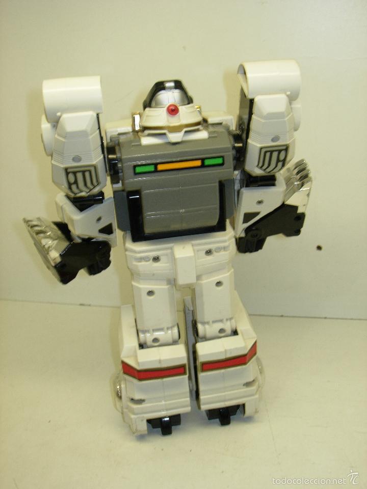 Figuras y Muñecos Power Rangers: ROBOT TRANSFORMER TIGERZORD POWER RANGERS BANDAI 1994 con luces y sonido - Foto 2 - 57546288