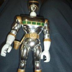 Figuras y Muñecos Power Rangers: FIGURA DE ACCIÓN POWER RANGERS IN THE SPACE DE BANDAI 1998.SILVER MEGA.. Lote 58411755