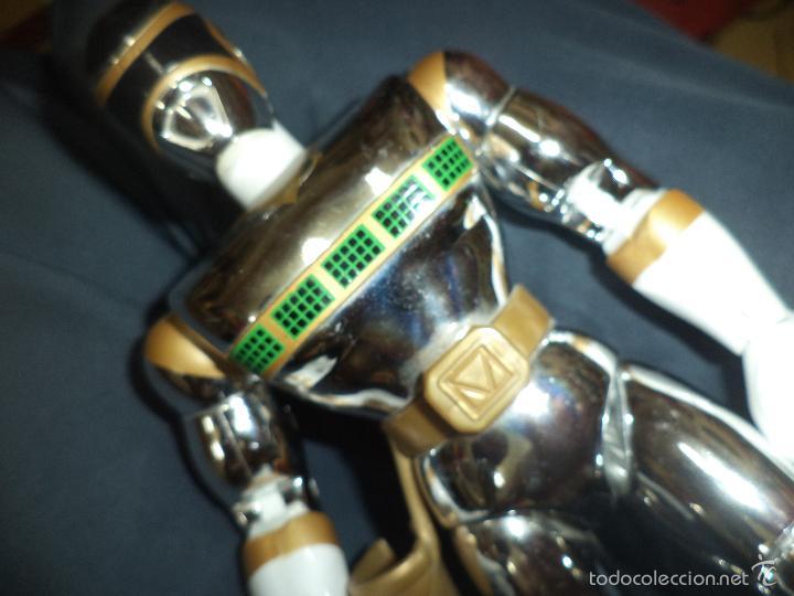 Figuras y Muñecos Power Rangers: Figura de acción Power rangers in the Space de Bandai 1998.Silver Mega. - Foto 2 - 58411755