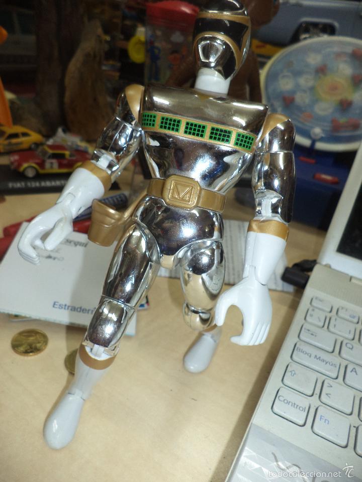 Figuras y Muñecos Power Rangers: Figura de acción Power rangers in the Space de Bandai 1998.Silver Mega. - Foto 3 - 58411755