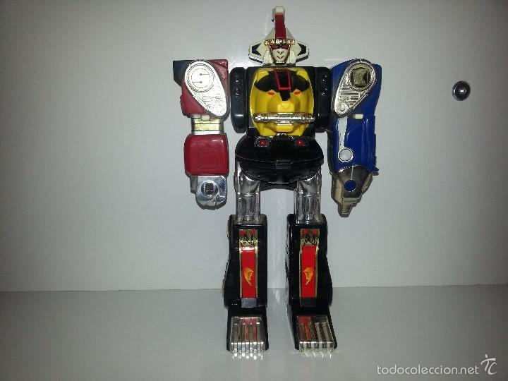 ROBOT TRANSFORMER DE BANDAI POWER RANGERS DELUXE NINJA MEGAZORD 1995 BIOMAN (Juguetes - Figuras de Acción - Power Rangers)