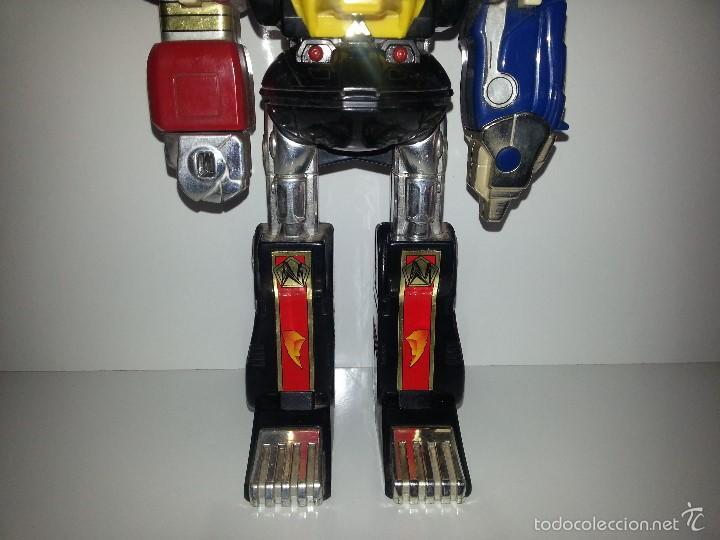 Figuras y Muñecos Power Rangers: ROBOT TRANSFORMER DE BANDAI POWER RANGERS DELUXE NINJA MEGAZORD 1995 BIOMAN - Foto 3 - 60169823