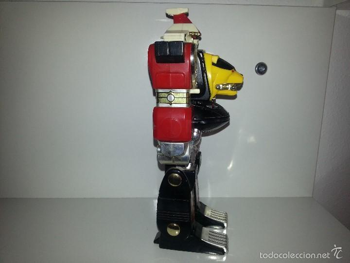 Figuras y Muñecos Power Rangers: ROBOT TRANSFORMER DE BANDAI POWER RANGERS DELUXE NINJA MEGAZORD 1995 BIOMAN - Foto 7 - 60169823