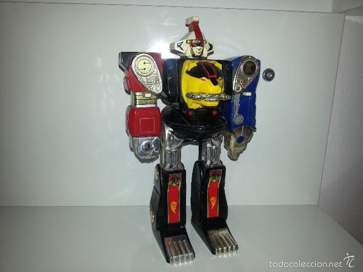 Figuras y Muñecos Power Rangers: ROBOT TRANSFORMER DE BANDAI POWER RANGERS DELUXE NINJA MEGAZORD 1995 BIOMAN - Foto 8 - 60169823