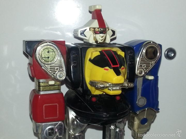 Figuras y Muñecos Power Rangers: ROBOT TRANSFORMER DE BANDAI POWER RANGERS DELUXE NINJA MEGAZORD 1995 BIOMAN - Foto 9 - 60169823
