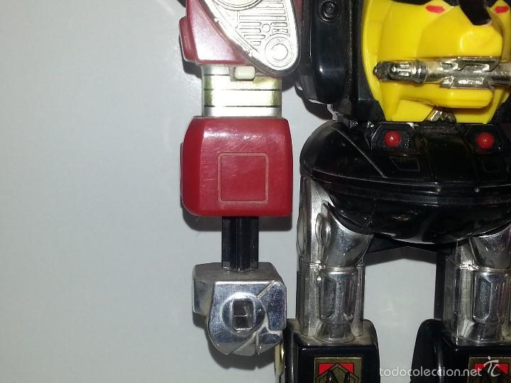Figuras y Muñecos Power Rangers: ROBOT TRANSFORMER DE BANDAI POWER RANGERS DELUXE NINJA MEGAZORD 1995 BIOMAN - Foto 11 - 60169823