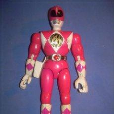 Figuras y Muñecos Power Rangers: MUÑECO FIGURA POWER RANGER POWERS RANGERS ROSA. BANDAI 1994 94. Lote 61637788