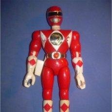 Figuras y Muñecos Power Rangers: MUÑECO FIGURA POWER RANGER POWERS RANGERS ROJO. BANDAI 1993 93. Lote 61637920