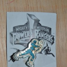Figuras y Muñecos Power Rangers: PIN POWER RANGER AZUL POWER RANGERS . Lote 62543664