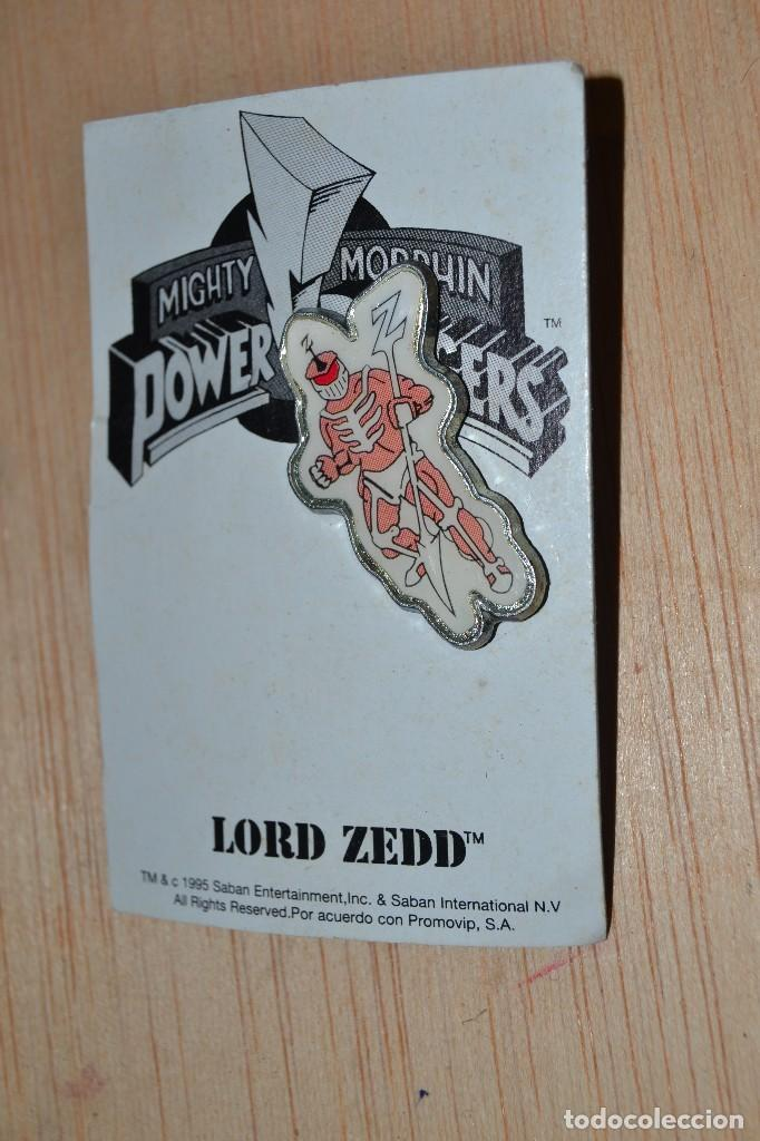 PIN LORD ZEDD POWER RANGERS (Juguetes - Figuras de Acción - Power Rangers)