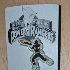 Figuras y Muñecos Power Rangers: PIN POWER RANGER NEGRO POWER RANGERS . Lote 62545080