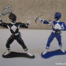 Figuras y Muñecos Power Rangers: LOTE DE 2 FIGURAS DE LOS POWER RANGERS - BANDAI.. Lote 66453890