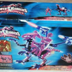 Figuras y Muñecos Power Rangers: POWER RANGERS RED DINO THUNDER RAPTOR CHARGED. MIGHTY MORPHIN BANDAI. [NUEVO A ESTRENAR]. Lote 66886438