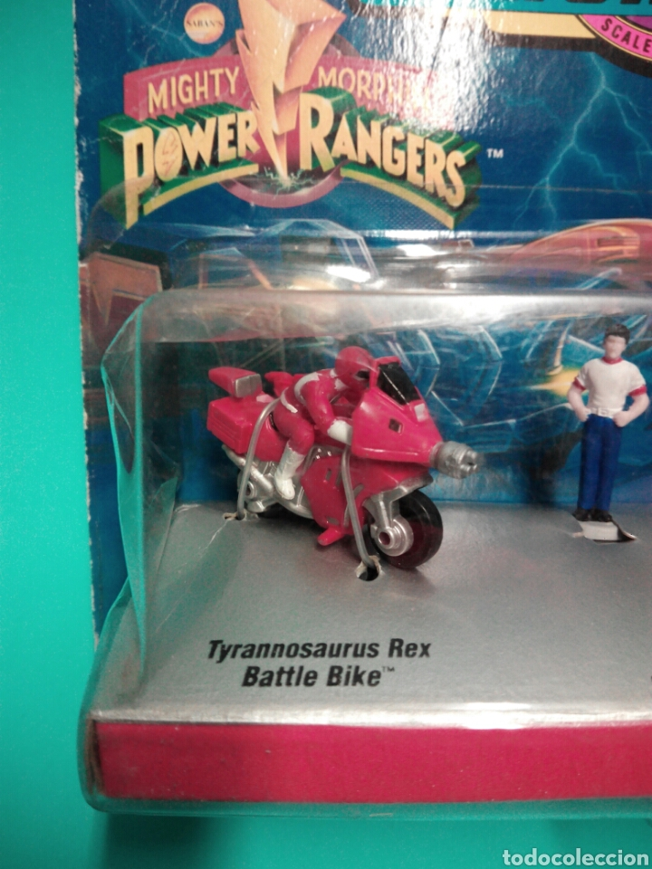 Figuras y Muñecos Power Rangers: MICRO MACHINES POWER RANGERS #1 RED RANGER TYRANNOSAURUS GALOOB 74700 MICROMACHINES BLISTER FAMOSA - Foto 5 - 73693695