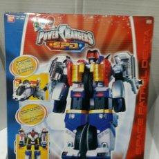 Figuras y Muñecos Power Rangers: POWER RANGERS DX OMEGA MEGAZORD 24 CM. NUEVO EN CAJA. S.P.D. TRANSFORMABLE. BANDAI. SIN ABRIR. . Lote 75939209