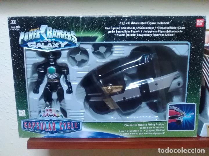POWER RANGERS - LOST GALAXY - CAPSULAR CYCLE - BANDAI REF. 4396 ¡NUEVO A ESTRENAR! (Juguetes - Figuras de Acción - Power Rangers)