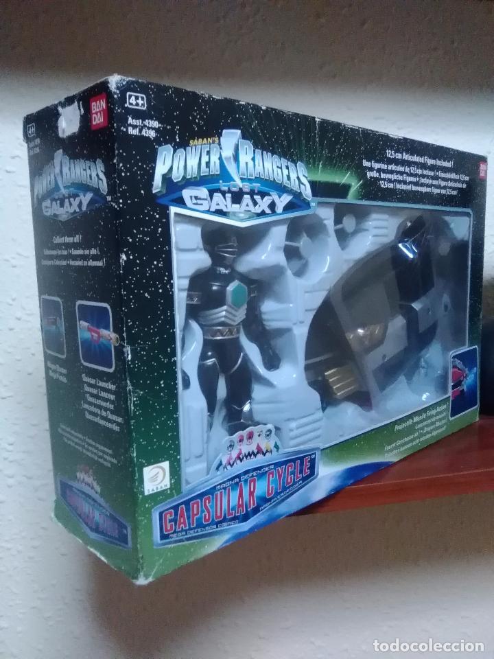 Figuras y Muñecos Power Rangers: POWER RANGERS - LOST GALAXY - CAPSULAR CYCLE - BANDAI REF. 4396 ¡NUEVO A ESTRENAR! - Foto 3 - 26501948